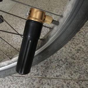 meilleur gonfleur de pneus CO2