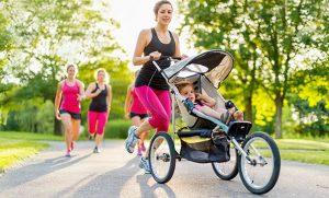 meilleure poussette de jogging