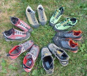meilleure chaussure d'approche
