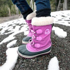 meilleures bottes de neiges pour enfants