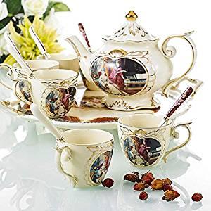 meilleur set à thé anglais