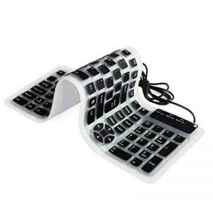meilleur clavier flexible