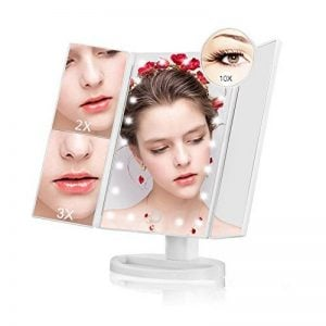 miroir maquillage triple - 3