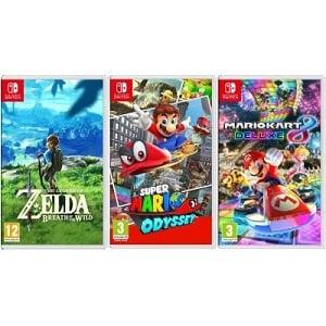 meilleur jeu Nintendo Switch