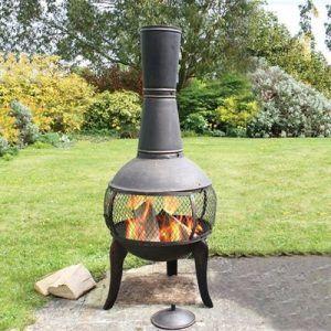 meilleure cheminée de jardin